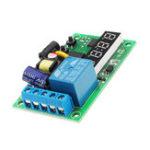 Оригинал AC220V Real Time Relay Time Switch Timing Module High Precision Часы Контроль времени прохода