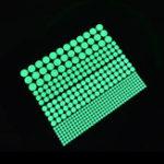 Оригинал MiicoCreativeDotStarMoonШаблон 4 Необязательные группы Стеновые панели из светлого ПВХ Съемный домашний декор Декоративный настенны