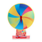 Оригинал 12 Slot Spin Fortune Prize Wheel Blank Colour Prize Wheels Tabletop Editable Carnival Game Набор