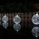 Оригинал 1.65M10LedsMirrorBallLight Светодиодный String Home Holiday Decor Disco Lights Party Hotel Бальные украшения String Lights Батарея Powered String Night Lights for Christmas Home Decorations
