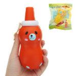 Оригинал Sanqi Elan ketchup Squishy 14 * 5.5CM Медленный рост с подарком коллекции упаковки Soft Toy
