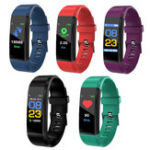Оригинал B05 Цветной экран Smartwatch Водонепроницаемы Контроль артериального давления Step Sport Smart Bracelet