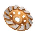 Оригинал 100 мм алмазный шлифовальный круг бетоноукладчик диск колеса для бетона гранит камень шлифования