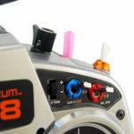Оригинал 8 PCS STP Радио Цветная гайка для переключателя Spektrum Дистанционный RC-передатчик