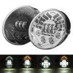 Оригинал 12V 70W LED Фары ближнего света с подсветкой DRL Hi / Lo Beam для Harley VR-VRSC VRSCX