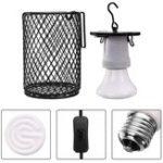 Оригинал AC110 AC220V 100W E27 Инфракрасный Керамический излучатель тепла рептилии Pet лампа с переключателем Lampholder