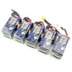 Оригинал Rush & TCK 4S 17.4V HV 1550mAh 100C 27WH Lipo Батарея XT60 Plug для RC Дрон FPV Racing