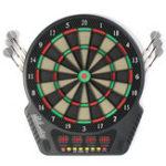 Оригинал 18 дюймов Профессиональный электронный дартс Bullseye 4 LED Дисплей 243 Способы игры