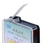 Оригинал Хлор-тест Бумажные полоски Диапазон 50-2000 ppm C Диаграмма цвета Sanitizer Testing Набор Набор 4m