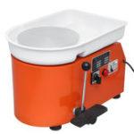 Оригинал Керамическая формовочная машина 250 Вт Электрическое колесо керамики DIY Клей Инструмент с лотком для машины Керамический