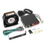 Оригинал 12V 200W 9 Звук Громкий Авто Предупреждающий сигнальный громкоговоритель PA Siren Horn MIC System Микрофон