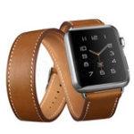 Оригинал Натуральная Кожа Часы Стандарты Замена ремешка для Apple Watch серии 1 42 мм