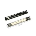 Оригинал 2PCS Mateksys RGB ARM 24V 50X7mm Light LED Стрип-панель для RC Дрон FPV Racing
