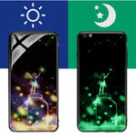 Оригинал Bakeey3Dночьсветящегосязакаленногостекла защитная Чехол для iPhone 6/6s
