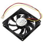 Оригинал 80x80x15mm 3 Pin 12V CPU Cooling Fan Cooler Компьютерный радиатор