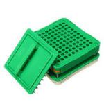 Оригинал 100 отверстий Капсула заполняющая капсула Машина для наполнения капсул Flate Инструмент Food Grade