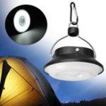 Оригинал Портативный 5W 300LM 28 LED Солнечная USB аккумуляторная Кемпинг Светлый фонарь палатки Лампа