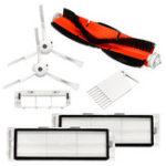 Оригинал 7 шт. Роботные вакуумные замены Щетка HEPA Filter Main Щетка Для пылесоса MI Robot