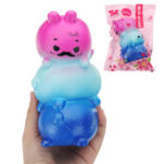 Оригинал Eric Mommy And Baby Squishy 15 * 9 * 8CM Медленный рост с подарком коллекции упаковки Soft Игрушка