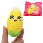 Оригинал Corn Squishy 8CM медленно растет с подарком коллекции упаковки Soft Toy