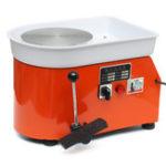 Оригинал 110V / 220V 250W / 350W 25cm Керамическая машина для глиняного колеса для Керамический Work Clay Art Craft