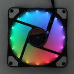 Оригинал 120-миллиметровые вентиляторы для вентиляторов RGB с напряжением 12 В