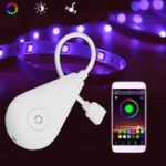 Оригинал DC12V Wireless Smart Voice Control WiFi RGB LED Работает с контроллером света с Alexa Google Home