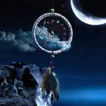 Оригинал SilverDreamCatcherFeathersCoreBead Dream ловца для стен Авто Украшения Dream ловца Декор Серебряные мечты Catcher Перья Core Bead Dream зрелище для стены