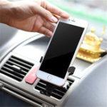 Оригинал УниверсальноесцеплениесгравитациейАвтоЗамок Авто Держатель воздухозаборника для iPhone8 X Xiaomi Mobile Phone