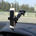 Оригинал УниверсальнаямощнаяприсоскаLongArm360 градусов вращения Авто Mount Windshield Phone Holder