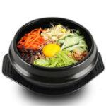 Оригинал КорейскийDOLSOTмискаБольшойразмерглиняной посуды Каменный горшок Бибимбап Кулинария + Набор для ринга Райс
