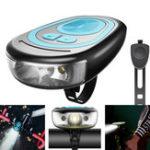 Оригинал XANESBL051200LM4режимаНемецкий стандарт 150 ° Освещение USB Зарядка 1200mAh Lithium Батарея Водонепроницаемы Передний свет велосипеда с ро