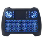 Оригинал 2.4GHz Mini Backlit Wireless Клавиатура Air Мышь с сенсорной панелью для Android TV Коробка Mini PC