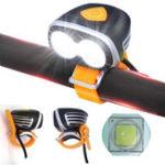 Оригинал XANESDL101200LM2xXM-L2ближнийсвет Большой фонарь велосипеда переднего света 5 режимов IPX6 Водонепроницаемы Double LED Основная фара
