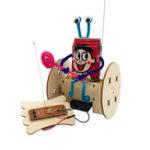 Оригинал DIY 2 колеса Дистанционное Управление образовательных электрических робот баланс Авто Научные изобретения игрушки