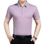Оригинал Мужчинысреднеговозрастаснадписьюс короткими рукавами Polo Рубашка