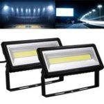 Оригинал 50W COB LED Flood Light Водонепроницаемы На открытом воздухе Свет для гаража Сад Ярд AC220V