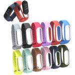 Оригинал Bakeey Colorful Силиконовый Сменный браслет Браслет Браслет браслет для XIAOMI Mi Band 3