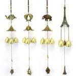 Оригинал LuckyFortuneСадМедьСплавWind Chime Ornaments На открытом воздухе Живой двор Сад Настенные украшения для украшения