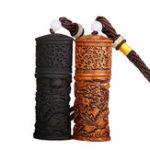 Оригинал КитайскийстильMiniEDCкеросиноваязажигалка Key Chain Chinoiserie Carving Dragons Ignition Starter