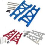 Оригинал  1 Комплект 1/10 Алюминиевый Передний / задний нижний рычаг для Traxxas Slash 4X4 Blue Silver Red Rc Авто Parts