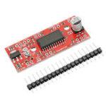 Оригинал 10pcs DC 7V до 30V 150mA до 750mA A3967 Простой шаговый драйвер Мотор Driver Board для Arduino