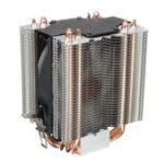 Оригинал 3-контактный 4-х тепловые трубки радиатора охлаждения процессора радиатора для LGA1156 LGA1155 LGA1150 LGA1151 LGA775