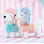 Оригинал Metoo 24CM Rabbit Собака Плюшевая игрушка фаршированная мультяшная животная Кукла Для подарка для детей Baby Kids