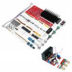 Оригинал DIY TDA2030A DC 12V 30W 1.5A 2.1 Усилитель Board Набор 3-канальная компьютерная акустическая система Сабвуферная плата