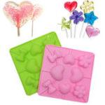 Оригинал СиликоновыйLollipopMoldCakeШоколаднаяформа DIY Ice Ice Tray Mold Ice Cube Candy Poodding для выпечки