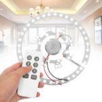 Оригинал 24W 30W 36W LED Круглый потолочный светильник Дистанционное Управление Dimmable with Transformer DC12V