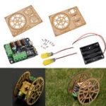 Оригинал 2WD FlameWheel Дистанционное Управление Smart Robot DIY Набор для Arduino с поддержкой контроля приложений управления приложениями