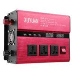 Оригинал DC12 К AC 220V 8000W Пик Солнечная Инвертор LED AC Синусоидальный преобразователь