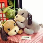 Оригинал 45см 18-дюймовый плюшевый плюшевый игрушка Lovely Puppy Собака Kid Friend Sleeping Toy Gift